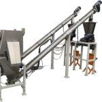Impianto di estrazione caricamento e dosaggio a batch polveri
