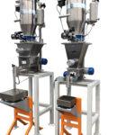 n. 2 dosatori per riempimento barattoli con caricamento automatico