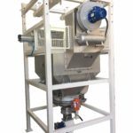 SBB con filtro depolveratore e rotovalvola per trasporto pneumatico